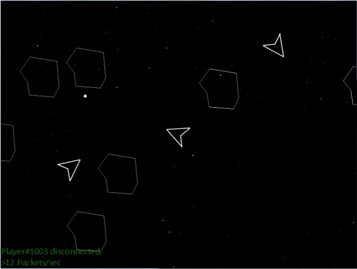 An XNA implementation of a massive multiplayer version of Asteroids.
